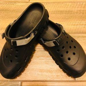 Crocs slip on shoes- Black